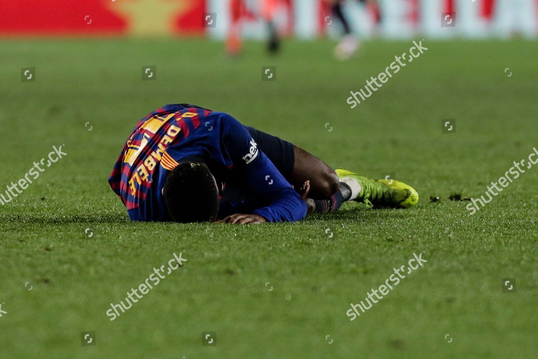 11 Ousmane Dembele Fc Barcelona Leaving Field Editorial Stock Photo Stock Image Shutterstock