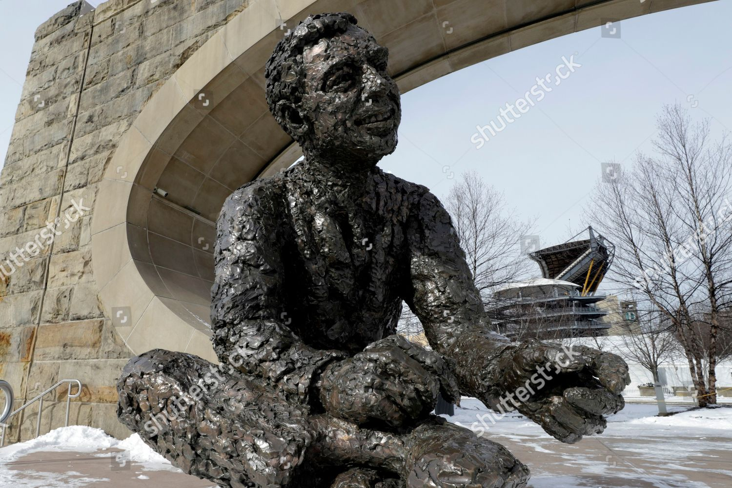 Statue Fred Rogers Called Tribute Children Overlooks Editorial Stock Photo Stock Image Shutterstock