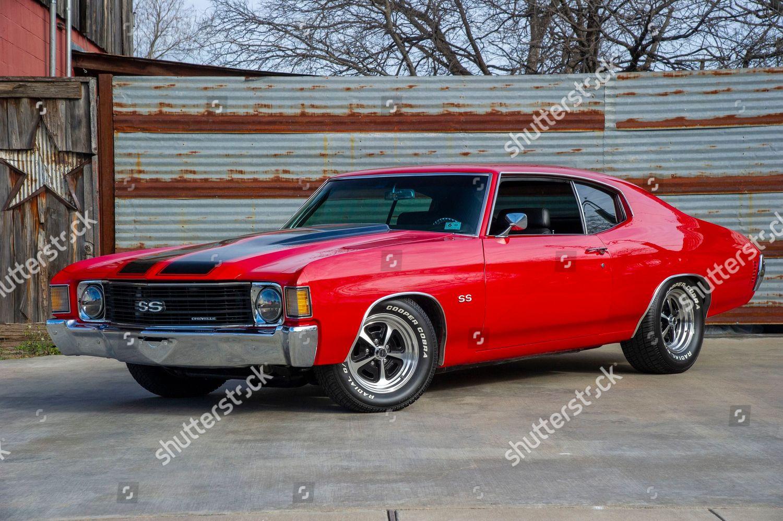1972 Chevrolet Chevelle Ss Lt3 Corvette Engine Redaktionelles Stockfoto Stockbild Shutterstock