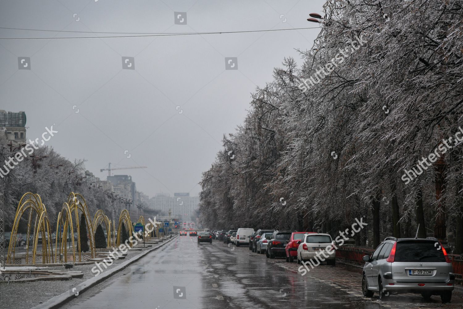 Bucharest Many Other Towns Romania Were Hit Editorial Stock Photo Stock Image Shutterstock