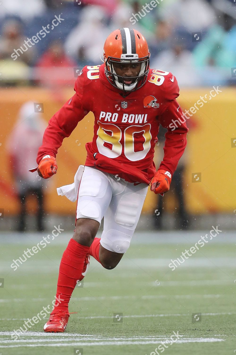 watch afc4b 4196c AFC wide receiver Jarvis Landry action during Editorial ...