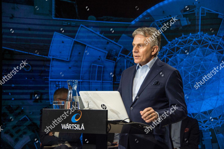 Jaakko Eskola President CEO Wartsila Corporation speaks Editorial