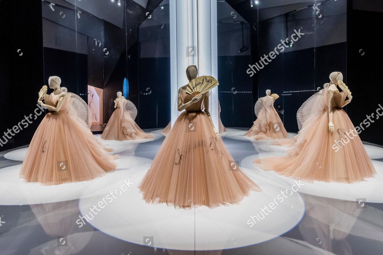 Eventail de vos hazrards dress by chiuri editorial stock photo