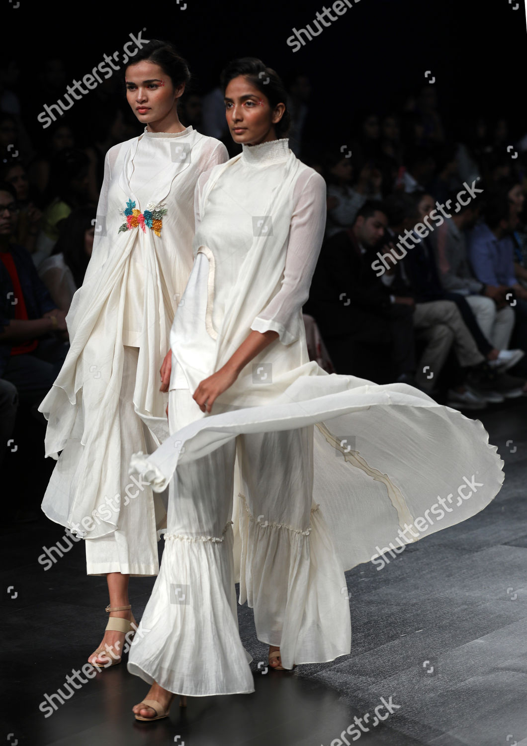 Model Presents Creation By Indian Designers Varun Editorial Stock Photo Stock Image Shutterstock