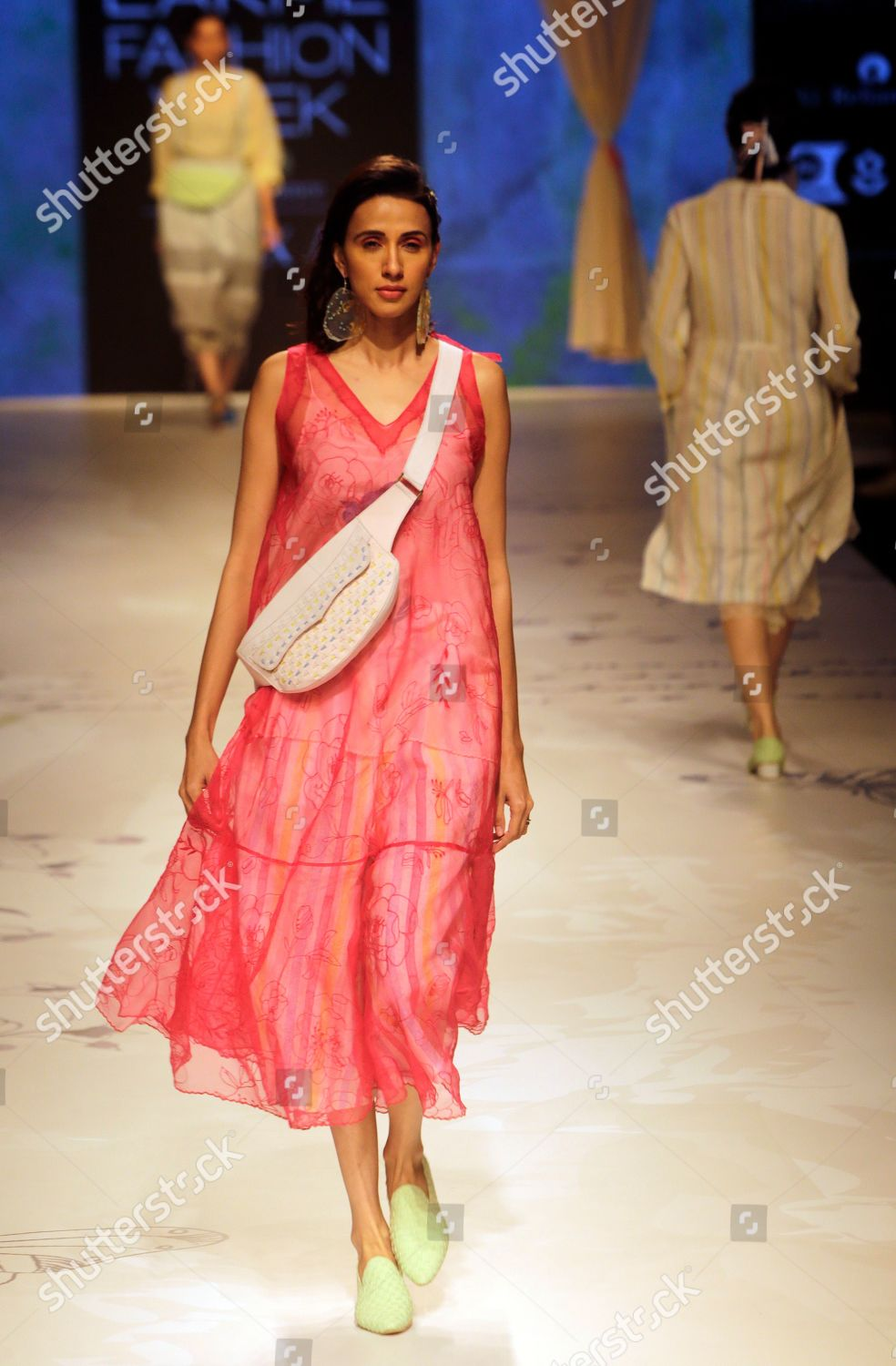 Model Displays Creation By Eka During Lakme Editorial Stock Photo Stock Image Shutterstock