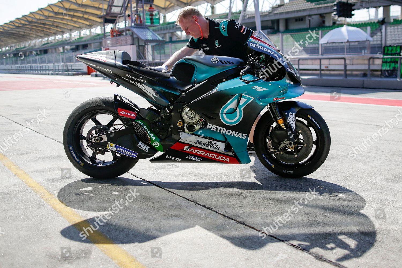 Technicians Petronas Yamaha Sepang Racing Team Prepare Editorial Stock Photo Stock Image Shutterstock