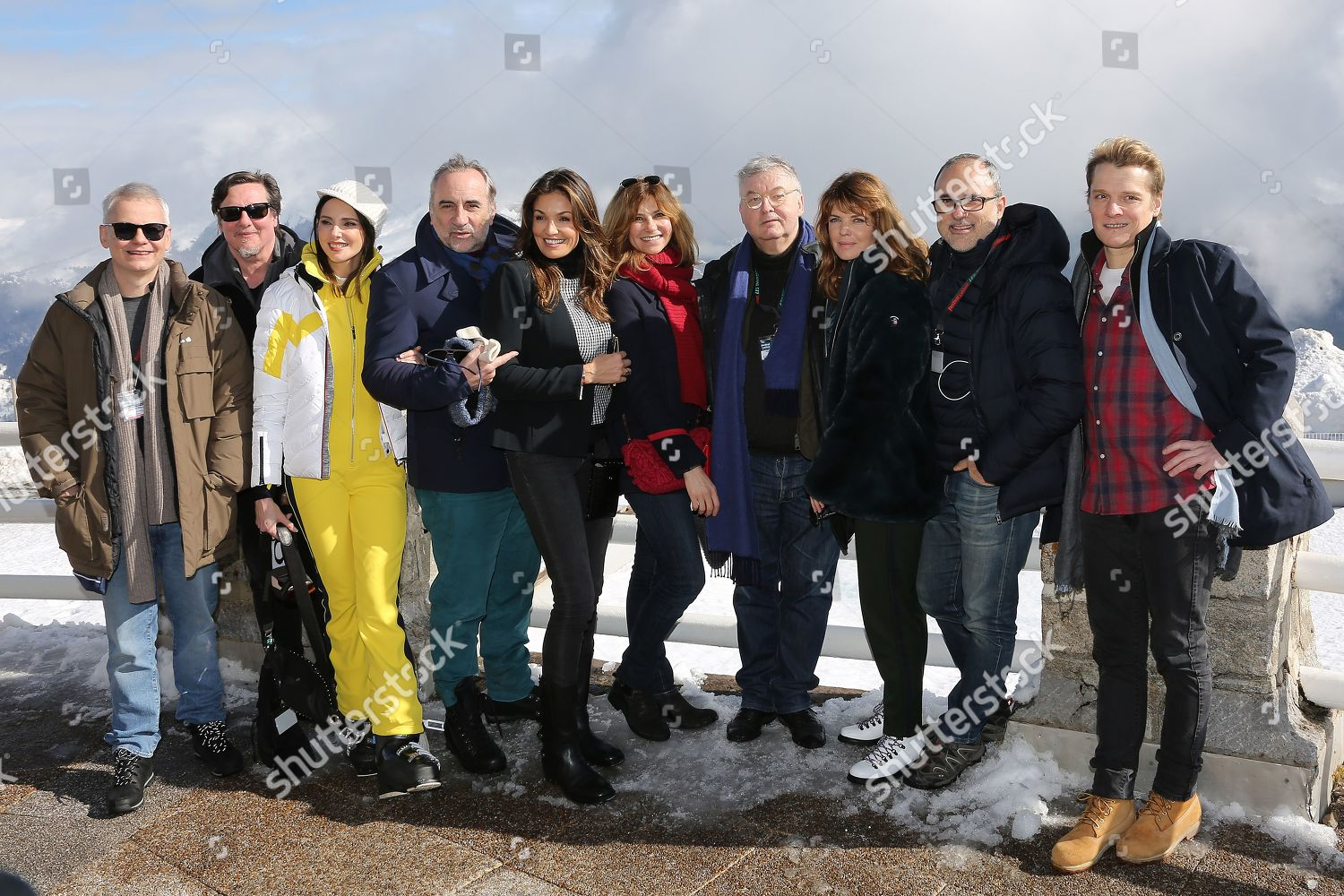 Stock photo of Luchon TV Creations Festival, Bagneres-de-Luchon, France - 07 Feb 2019
