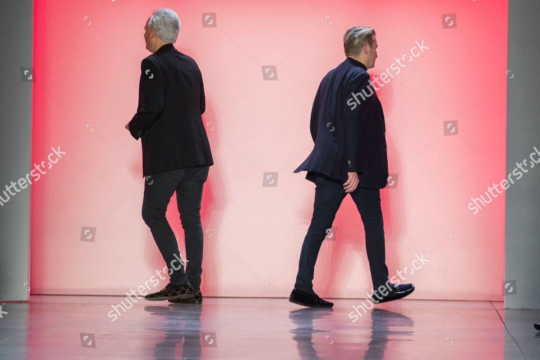 Stock photo of Fashion Badgley Mischka, New York, USA - 07 Feb 2019