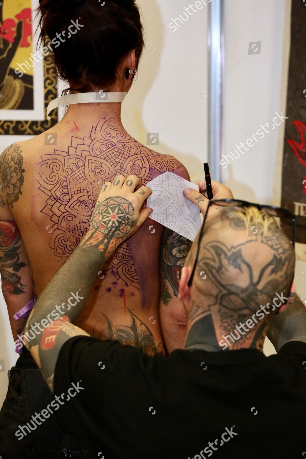 Opening Milan Tattoo Convention International Tattoo Fair Editorial Stock Photo Stock Image Shutterstock