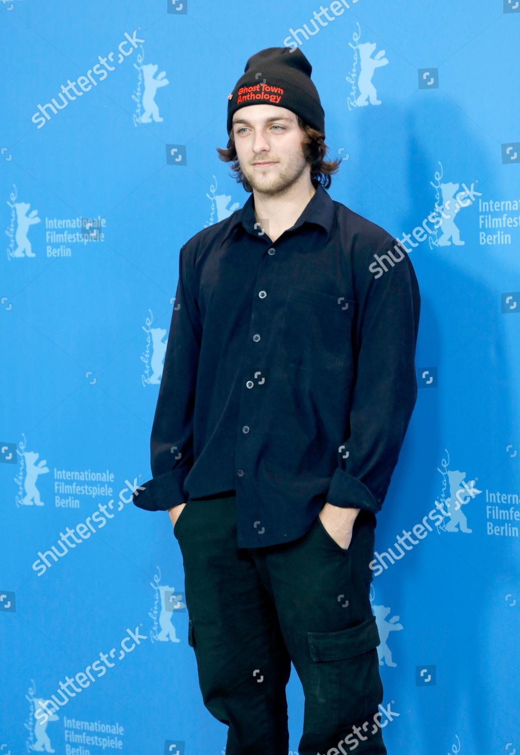 b1a66edb900 Remi Goulet poses during photocall Ghost Town Editorial Stock Photo ...