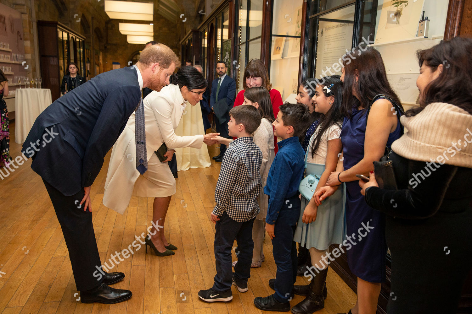 c0fddf2d4 Prince Harry Meghan Duchess Sussex attend gala Editorial Stock Photo ...