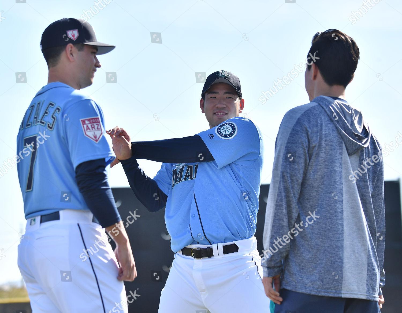 finest selection 9cb80 6e4f2 Seattle Mariners pitcher Yusei Kikuchi talks his Editorial ...