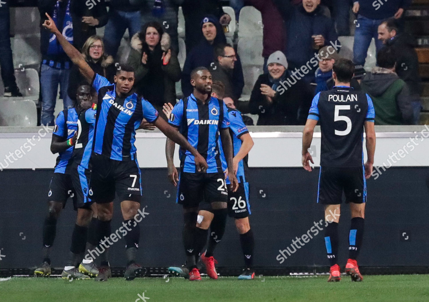 Club Brugge KV Team React After Wesley Editorial Stock Photo Stock Image Shutterstock