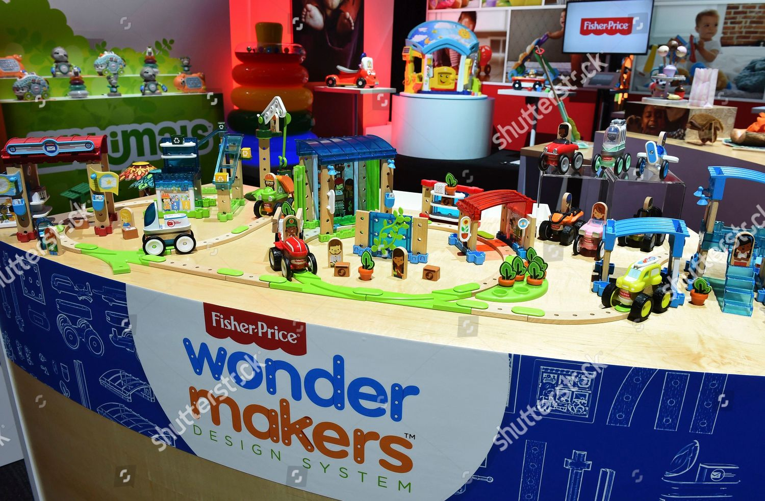Fisherprice Wonder Makers Only Design System Where Editorial Stock Photo Stock Image Shutterstock