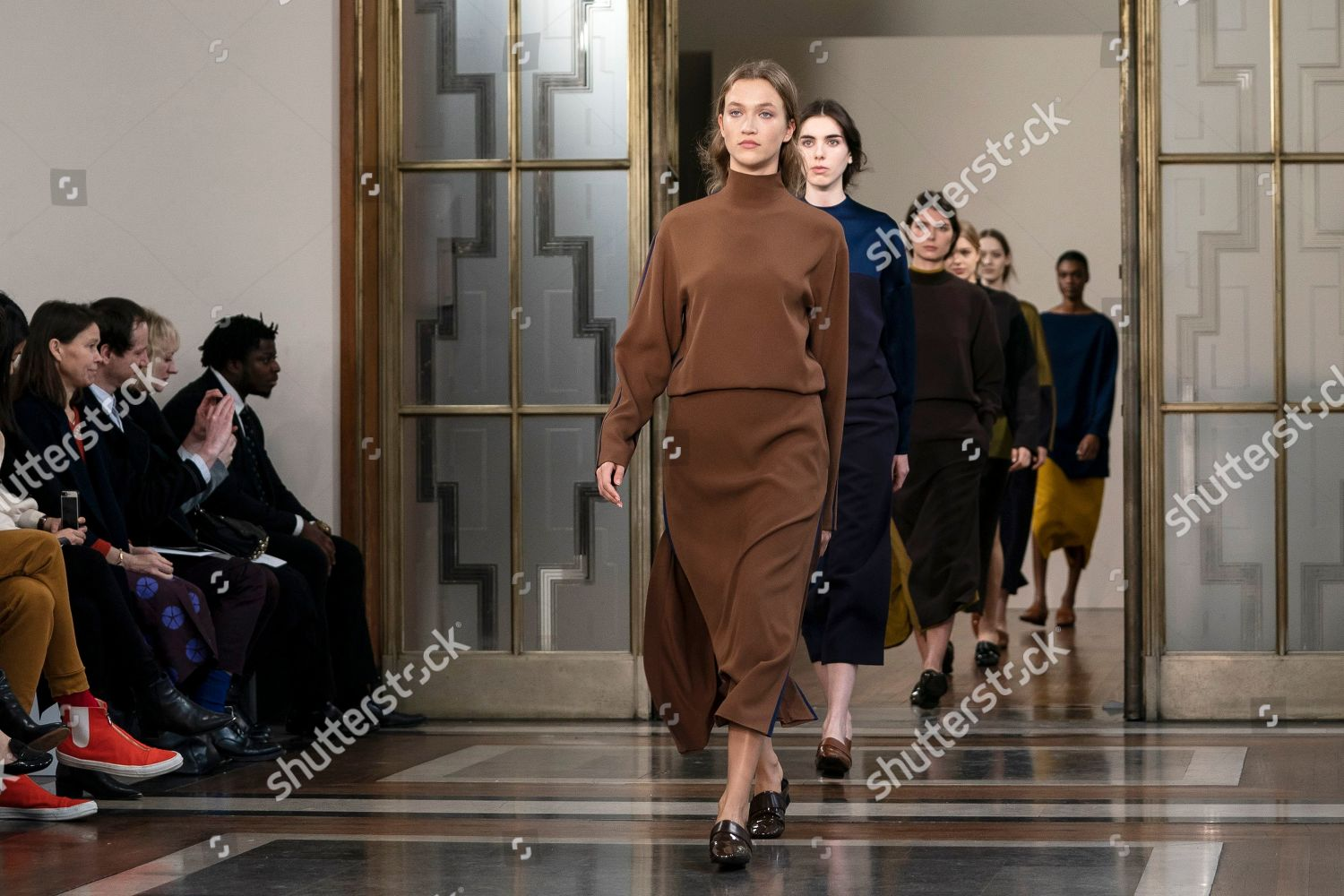 Models Present Creations By British Designer Jasper Editorial Stock Photo Stock Image Shutterstock