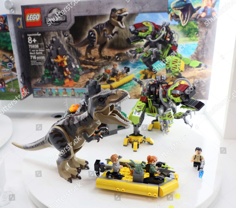 LEGO Jurassic World set based on new Editorial Stock Photo