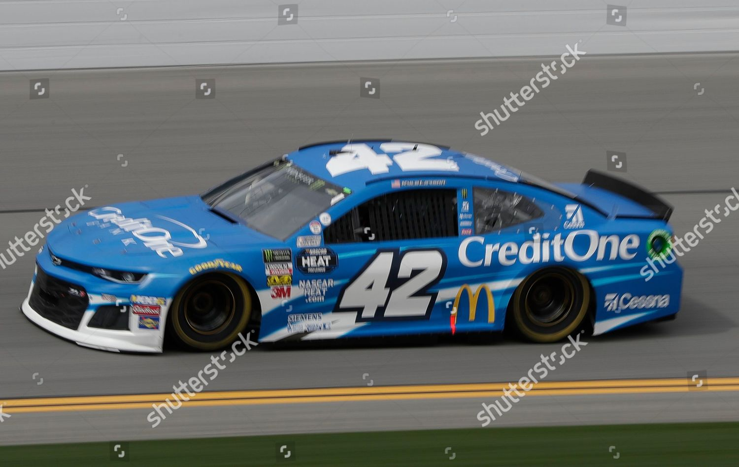 Kyle Larson Drives Laps During Nascar Auto Editorial Stock Photo Stock Image Shutterstock
