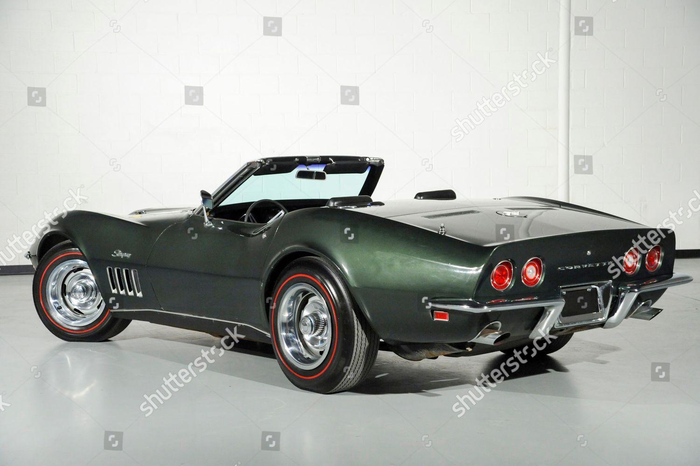 Classic Corvette Stingray Albert PenaCSM Editorial Stock