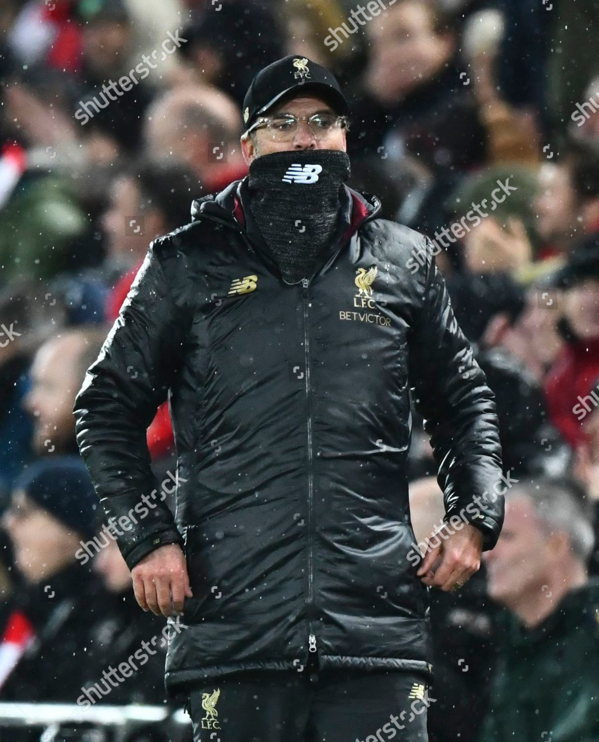 Liverpool Manager Jurgen Klopp Covers His Mouth Editorial Stock Photo Stock Image Shutterstock