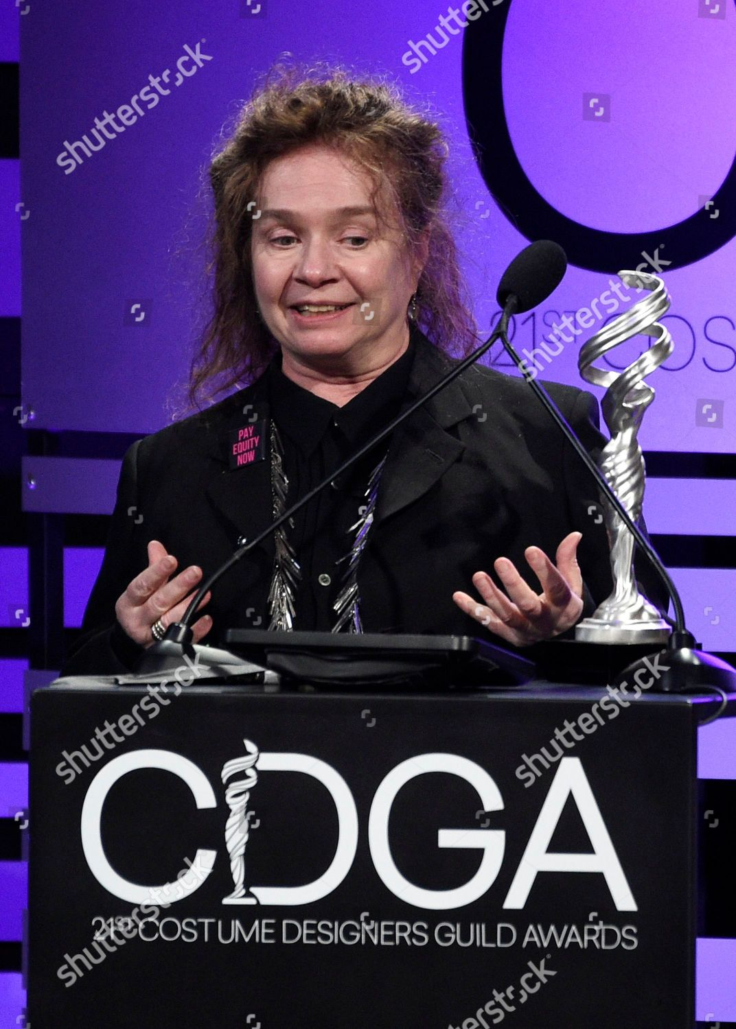 Donna Zakowska Accepts Excellence Period Television Award Editorial Stock Photo Stock Image Shutterstock