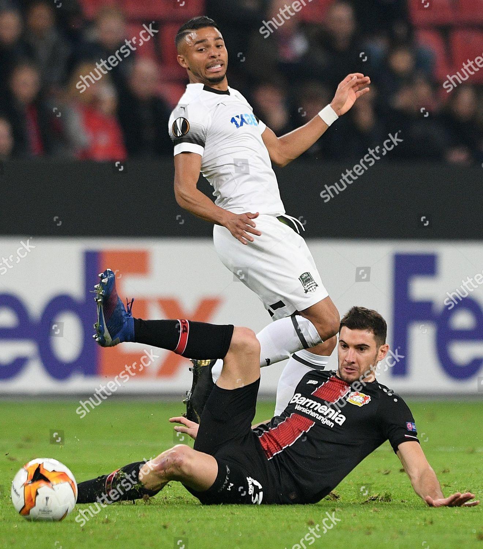 Leverkusens Lucas Alario L Action Krasnodars Wanderson Editorial Stock Photo Stock Image Shutterstock