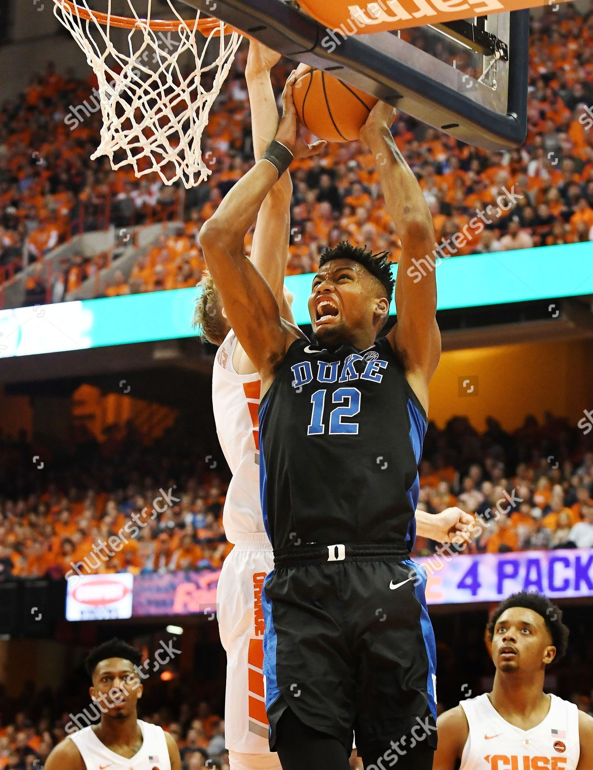 Duke Blue Devils Junior Forward Javin Delaurier Editorial