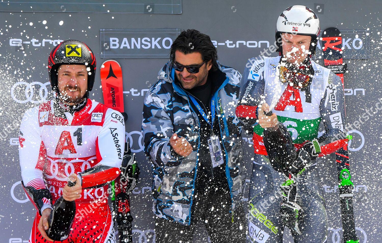 Former Italian Ski Racer Alberto Tomba C Editorial Stock Photo