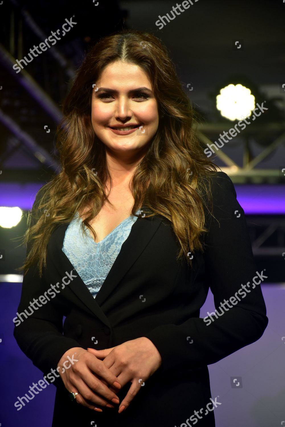cb6380c4f Zarine Khan on catwalk Editorial Stock Photo - Stock Image ...