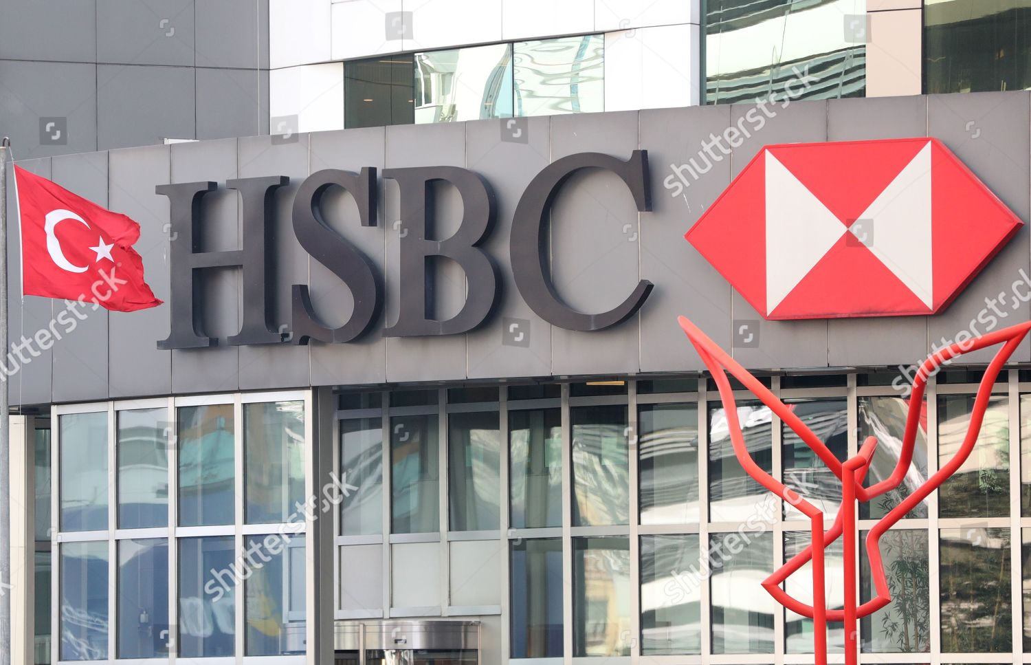 HSBC bank headquarters Istanbul Turkey 26 January Editorial