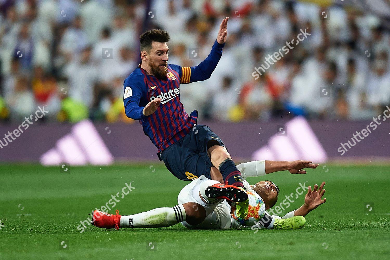 00bdbca7c25 Casemiro Real Madrid Lionel Messi FC Barcelona Editorial Stock Photo ...