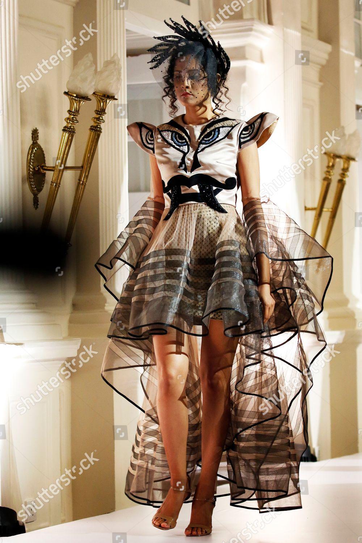 Model Presents Creation By Sri Lankan Designer Editorial Stock Photo Stock Image Shutterstock