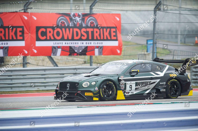 Alvaro Parente Driver 1 09 Bentley Continental Editorial Stock Photo