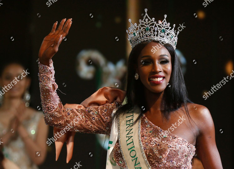 beauty contestant USA Jazell Barbie Royale waving Editorial Stock