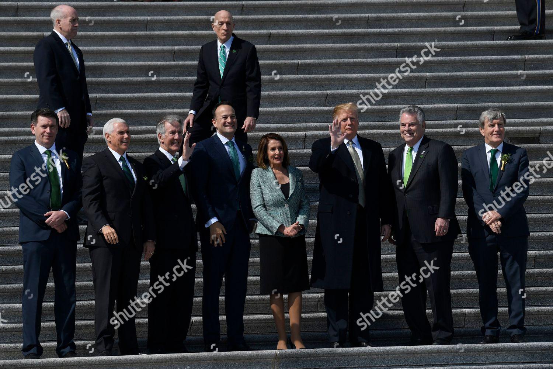 Stock photo of Trump US Ireland, Washington, USA - 14 Mar 2019
