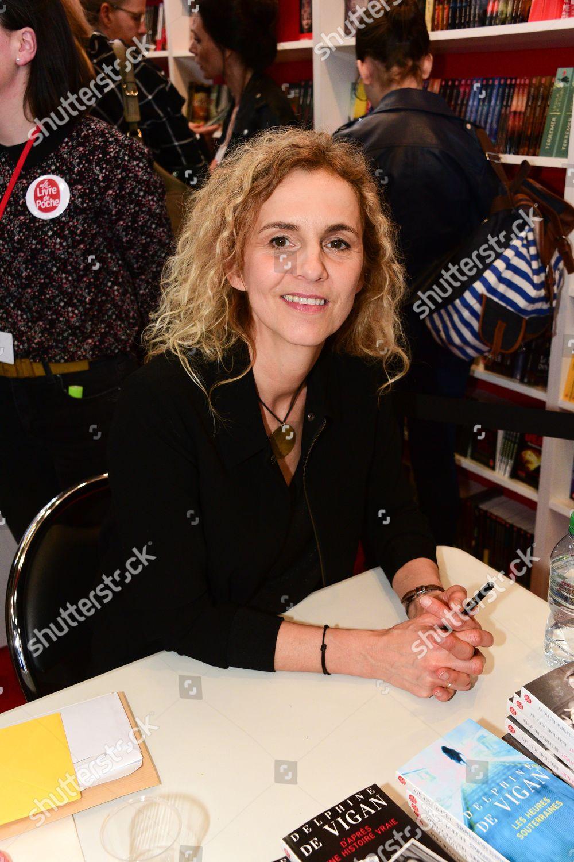 Delphine De Vigan Editorial Stock Photo Stock Image
