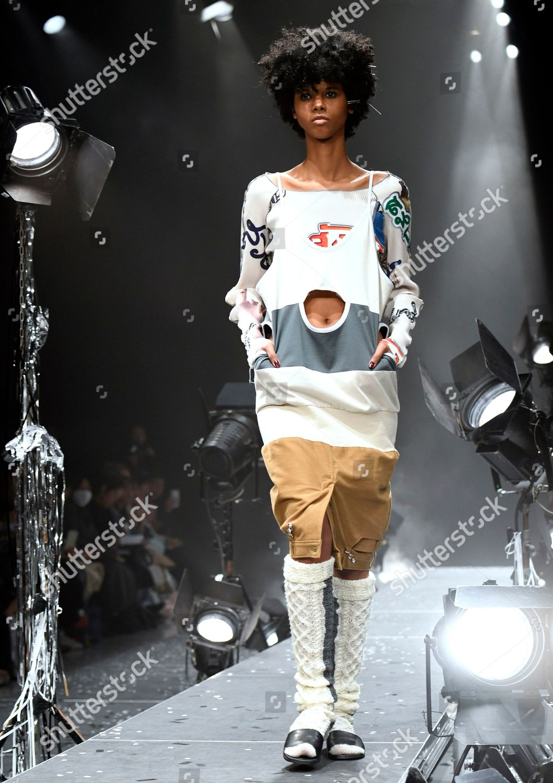 385f1eb7e68054 kotohayokozawa - Runway - Tokyo Fashion Week A/W 2019, Japan Stock Image by  AYANO SATO for editorial use, Mar 19, 2019