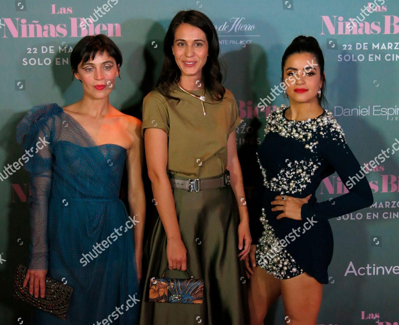 Stock photo of Las Ninas Bien, Mexico City, Mexico - 19 Mar 2019