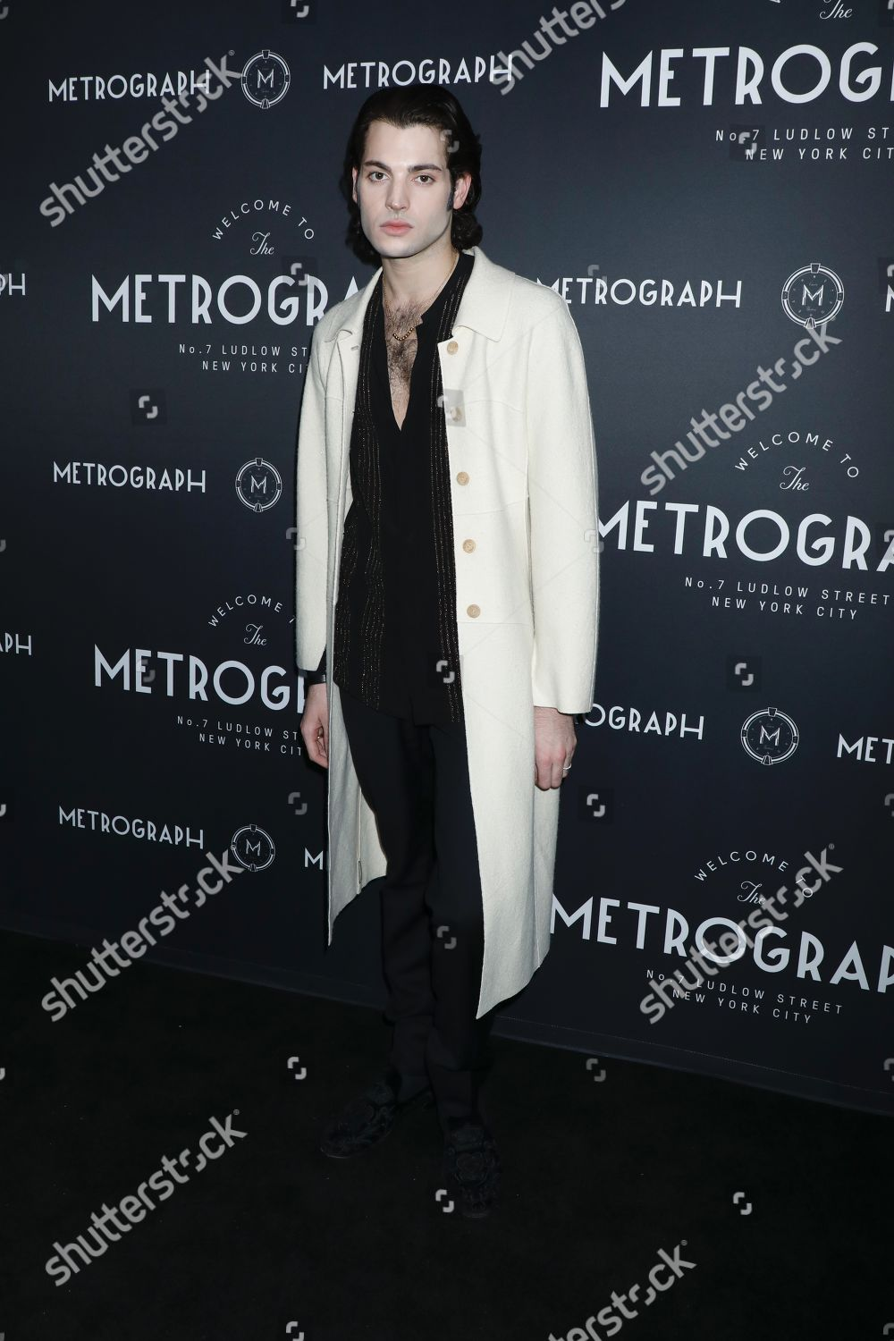 Stock photo of Metrograph 3rd Anniversary Party and Launch of Metrograph Pictures, Arrivals, New York, USA - 21 Mar 2019