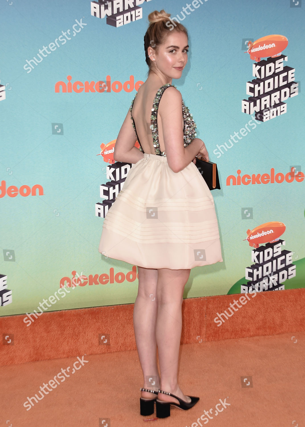 35722f54 Nickelodeon Kids' Choice Awards, Arrivals, Galen Center, Los Angeles, USA  Stock Image by Scott Kirkland for editorial use, Mar 23, 2019