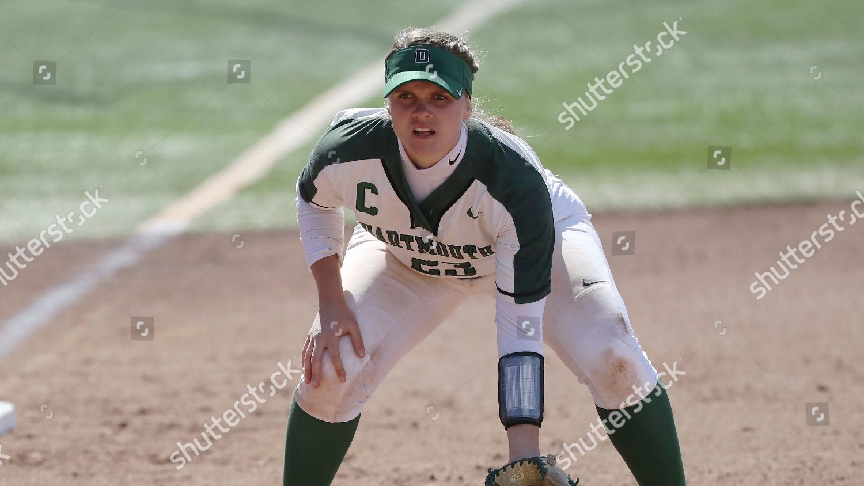 Dartmouths Morgan Martinelli action during NCAA softball