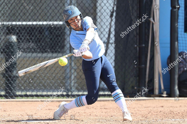 Columbias Amanda Nishihira swings pitch during NCAA