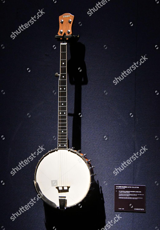 CFMartin Company Vega 5String Banjo circa 1970 Editorial