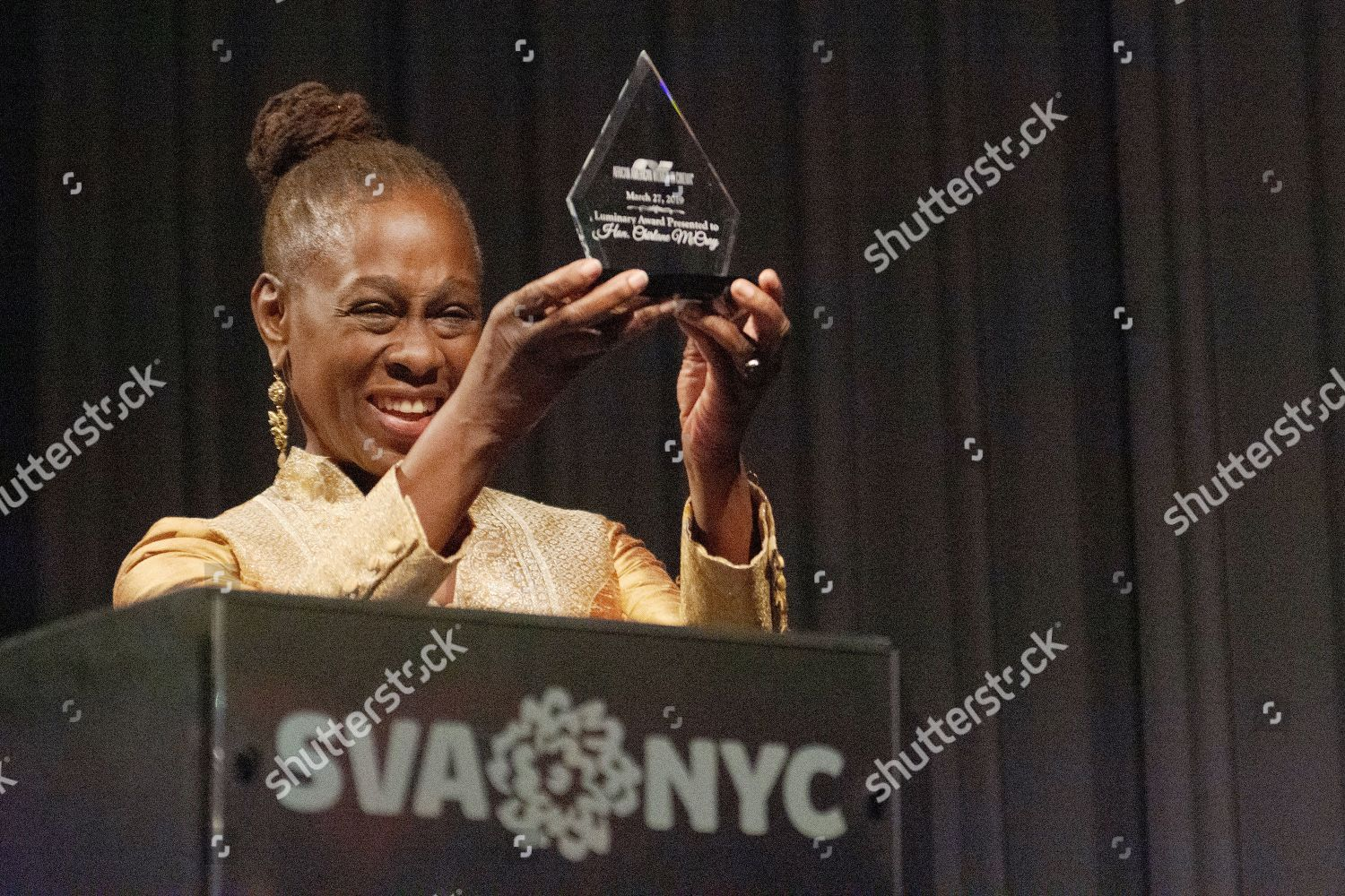 Chirlane McCray receives AAWIC Luminary Award on Editorial