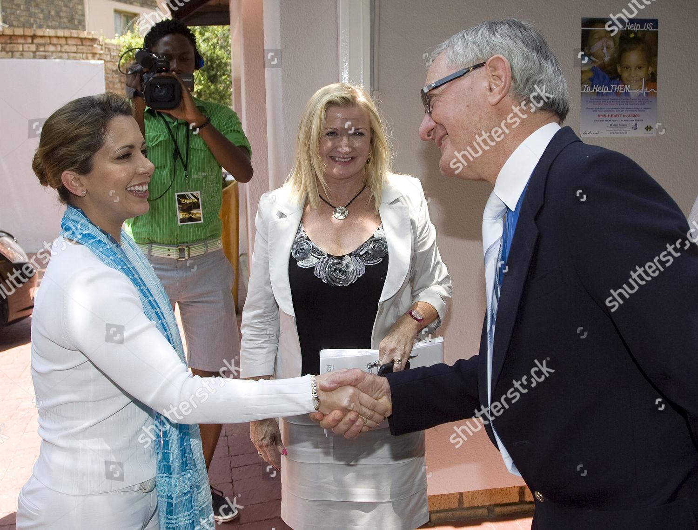 Princess Haya Bint Al Hussein met by Editorial Stock Photo