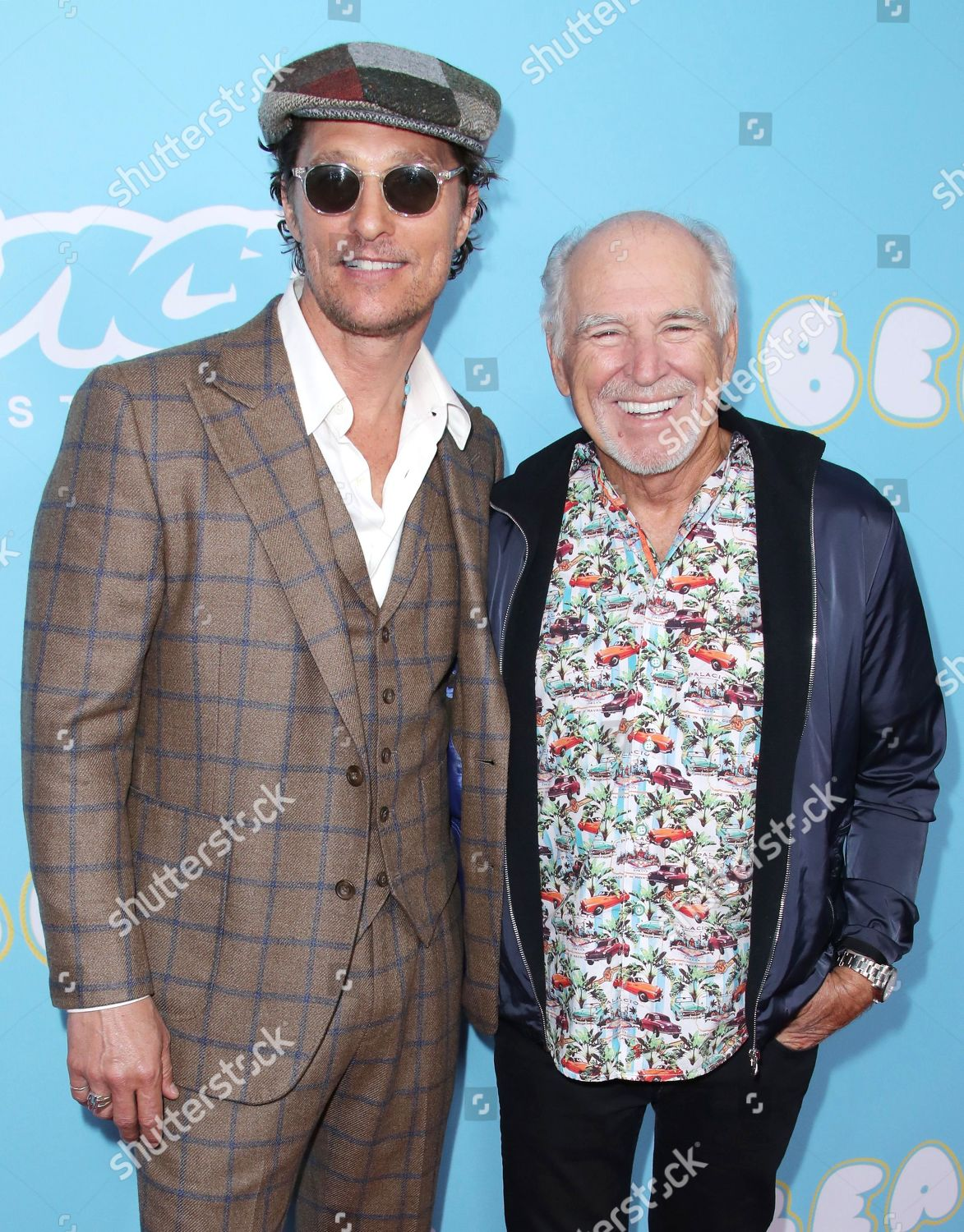 Matthew McConaughey Jimmy Buffett Editorial Stock Photo