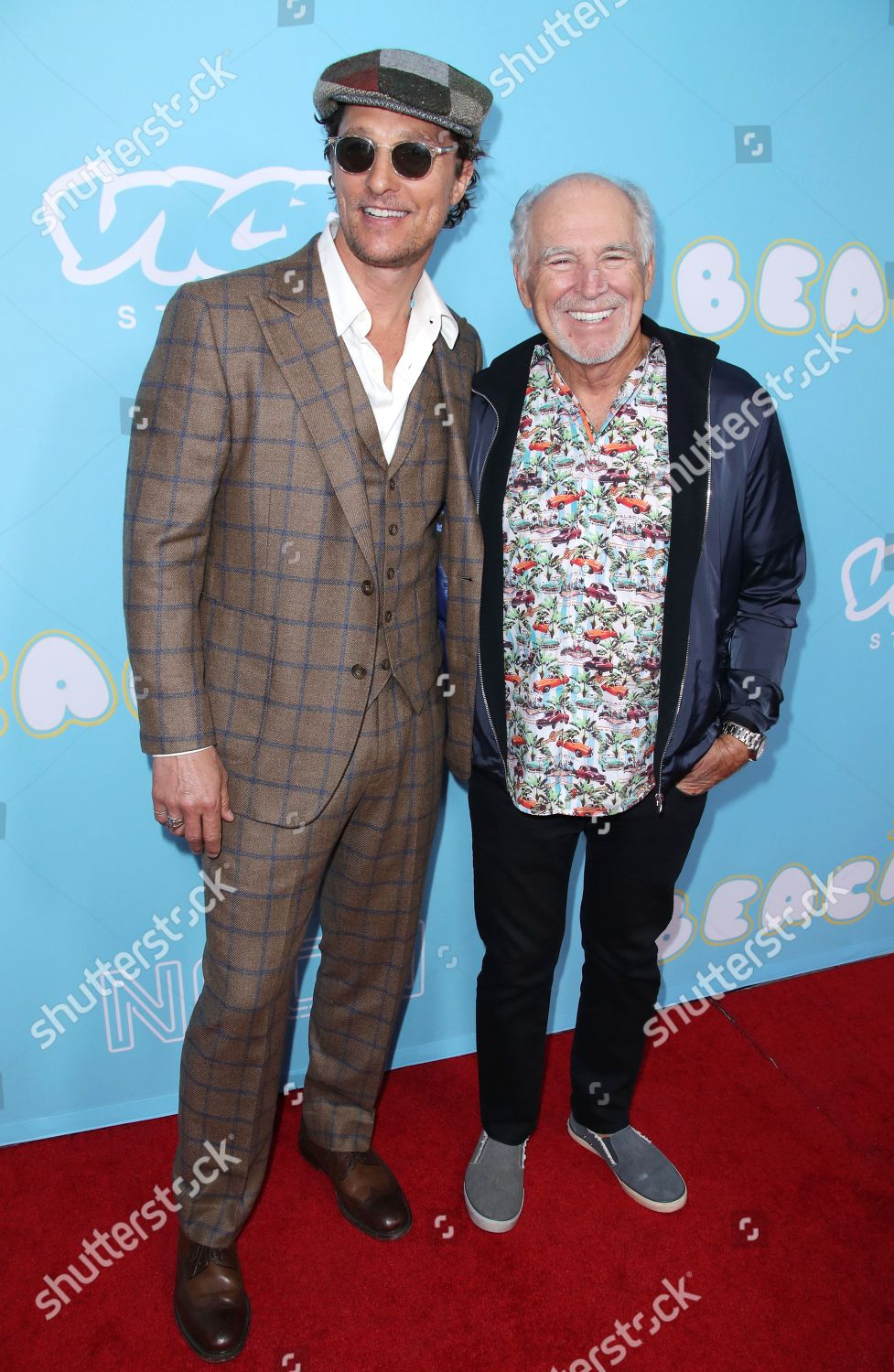 Matthew McConaughey Jimmy Buffett Editorial Stock Photo - Stock