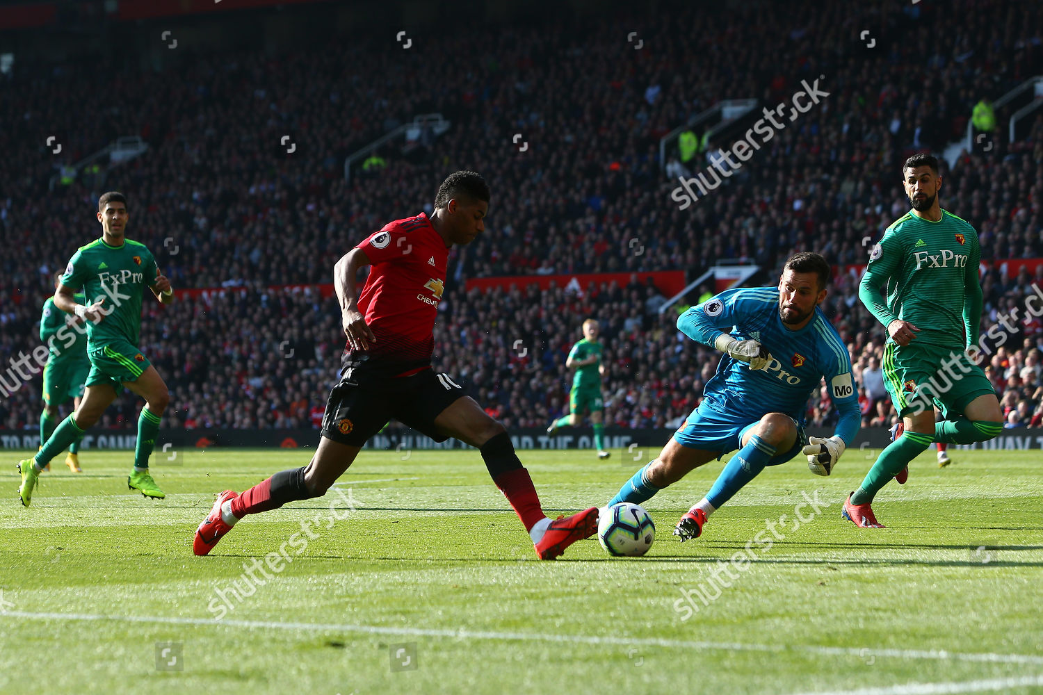 Marcus Rashford Manchester United Rounds Ben Foster Editorial Stock Photo Stock Image Shutterstock