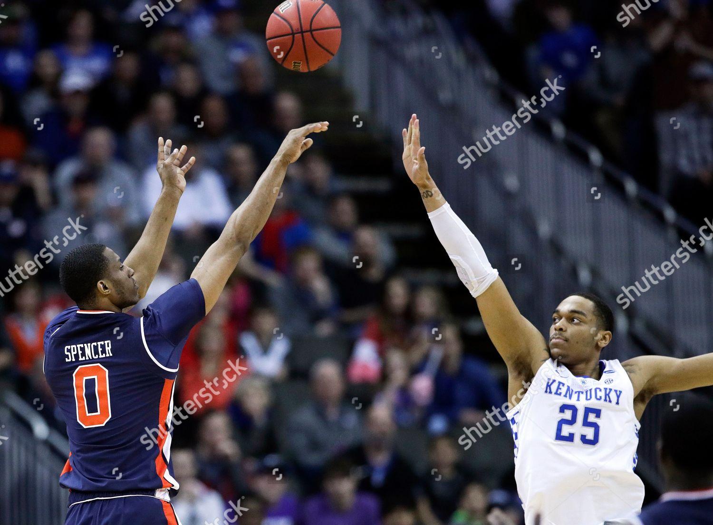 Auburns Horace Spencer 0 Shoots Over Kentuckys Editorial