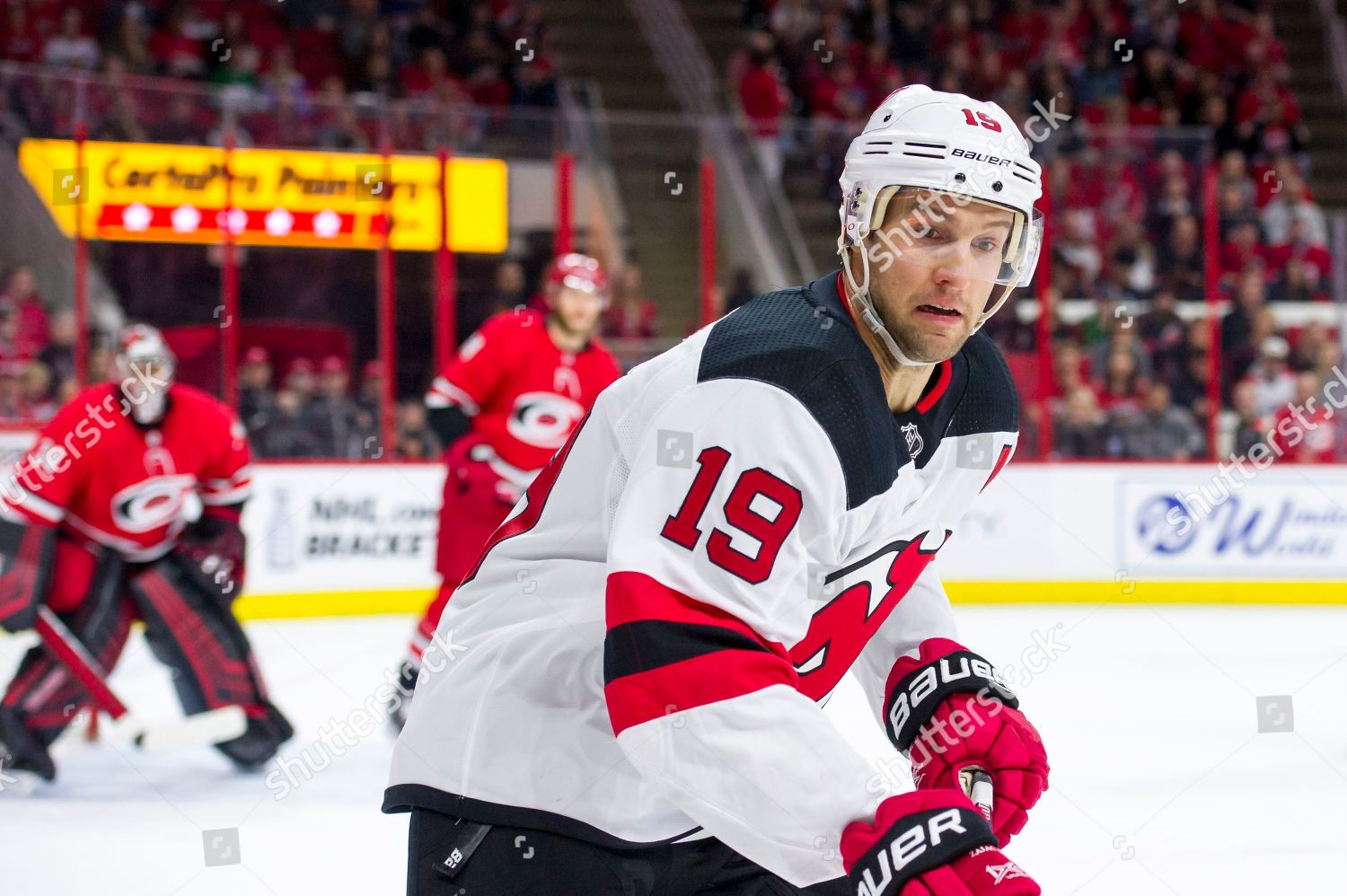 new concept 0a71b 84919 New Jersey Devils Travis Zajac 19 Editorial Stock Photo ...