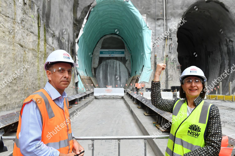 NSW Premier Gladys Berejiklian R Minister Transport